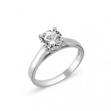 OLIVIE Stříbrný solitérní prsten CZ 1727 Velikost prstenů: 8 (EU: 57 - 58)