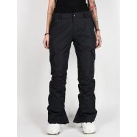 Volcom Bridger Ins black zateplené kalhoty dámské - S