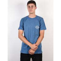 Rip Curl PERFECTO DENIM BLUE pánské tričko s krátkým rukávem - M