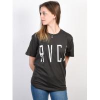 RVCA STILT PIRATE BLACK dámské tričko s krátkým rukávem - M
