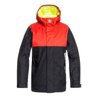 Dc DEFY black dětská zimní bunda - 12/L