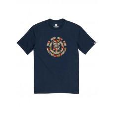 Element ORIGINS ICON ECLIPSE NAVY pánské tričko s krátkým rukávem - M