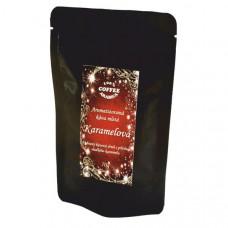 Ochucená káva čokoládové pralinky vánoční 70g