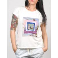 Roxy NEW CREW WBS0 dámské tričko s krátkým rukávem - M