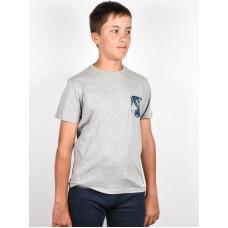 Element VOLSON grey heather dětské tričko s krátkým rukávem - 12