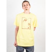 Antihero LANCE RANEY BANANA/BRN pánské tričko s krátkým rukávem - XL