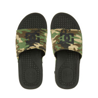 Dc BOLSA BLACK/CAMO pánské pantofle - 47EUR