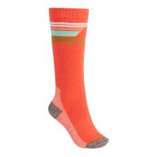 Burton EMBLEM MDWT HIBISCUS PINK kompresní ponožky - M\L