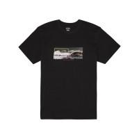 Billabong INVERSE black pánské tričko s krátkým rukávem - XL