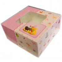 Krabice na zákusky, cukroví, mufiny - 3 ks