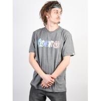 Element CHIMP grey heather pánské tričko s krátkým rukávem - L