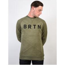 Burton BRTN DUSTY OLIVE pánská mikina - S