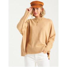 Billabong ENDLESS DAYS CAMEL dámský značkový svetr - S