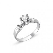 OLIVIE Stříbrný solitérní prsten CZ 1726 Velikost prstenů: 6 (EU: 51 - 53)
