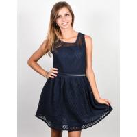 Picture Malou dark blue společenské šaty krátké - S