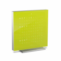 QLOCKTWO® Stolní hodiny QLOCKTWO Touch Lime Juice