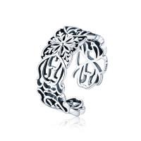OLIVIE Stříbrný prsten VINTAGE 2945