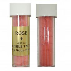 Sugarflair Jedlá prachová barva Rose (tmavě růžová), 2g