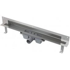 Alcaplast APZ5-TWIN-1050 podlahový žlab do zdi-pro obkladkout min. 1100mm SPA (APZ5-TWIN-1050)