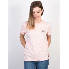 Rip Curl WAVE DANCERS ROSE QUARTZ dámské tričko s krátkým rukávem - XS