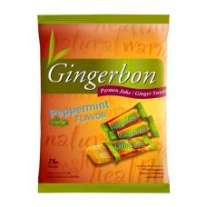Gingerbon 125 g peprmint - zázvorové bonbony s mátou