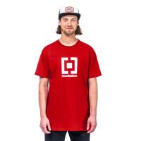 Horsefeathers BASE RED pánské tričko s krátkým rukávem - S