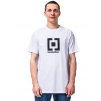 Horsefeathers BASE white pánské tričko s krátkým rukávem - XXL