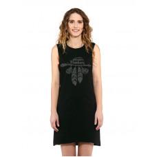 Horsefeathers KIM black společenské šaty krátké - XS
