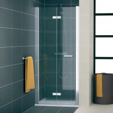 SanSwiss SLF1G 0800 50 44 Sprchové dveře dvoudílné skládací 80 cm levé, aluchrom/cristal perly