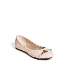 GUESS baleríny Gina Logo Plaque Flats blush vel. 38,5