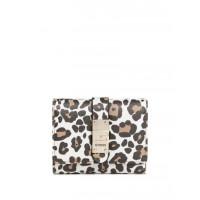 GUESS peněženka Nerea Small Trifold Wallet Leopard vel.
