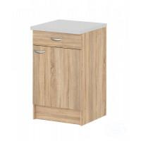 Kuchyňská skříňka Casa 45520 dub vč.desky - TVI