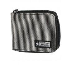 Volcom Full Zip black luxusní pánská peněženka