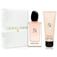 Giorgio Armani Sí W parfémovaná voda 50ml + BL 75ml