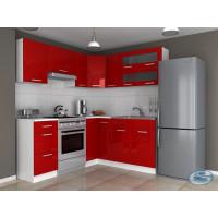 Kuchyňská linka Růžena 270/300 vysoký lesk - FALCO