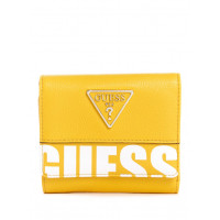 GUESS peněženka Narita Trifold Wallet žlutá vel.
