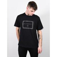 Element BANZER FLINT BLACK pánské tričko s krátkým rukávem - S