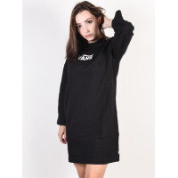 Vans CHROMO II black společenské šaty krátké - M