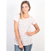Rip Curl MICRO CRYSTAL PINK dámské tričko s krátkým rukávem - L