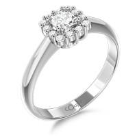Couple Zlatý dámský prsten Clara 6660294 Velikost prstenu: 49