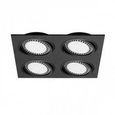 Zápustné svítidlo BOXY DL 4 BK