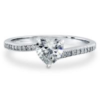 OLIVIE Stříbrný prstýnek LOVE STORY 4233 Velikost prstenů: 5 (EU: 47 - 50)
