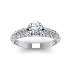 OLIVIE Stříbrný zásnubní prsten 2177 Velikost prstenů: 5 (EU: 47 - 50)