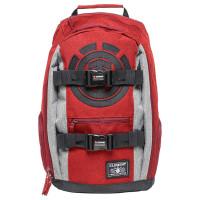 Element MOHAVE RED GRID HTR studentský batoh