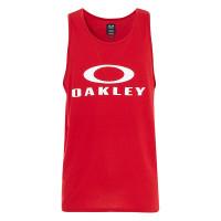 Oakley BARK SAMBA RED pánské bavlněné tílko - XL