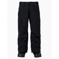 Burton EXILE CARGO TRUE BLACK zateplené kalhoty dětské - L