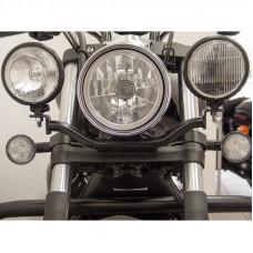 rampa na přídavná světla Fehling Yamaha XVS 1300 Custom 14- černá - Fehling Ernest GmbH a Co. 7575LHYA