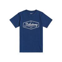 Billabong TRADEMARK DENIM BLUE dětské tričko s krátkým rukávem - 12