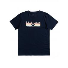 Quiksilver DISTANT SHORES NAVY BLAZER dětské tričko s krátkým rukávem - S/10