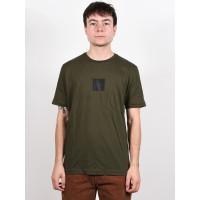Oakley BOLD BLOCK LOGO NEW DARK BRUSH pánské tričko s krátkým rukávem - L